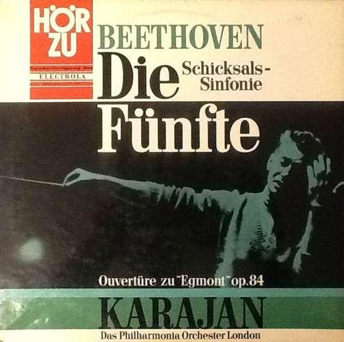 Bild Karajan*, Beethoven*, Das Philharmonia Orchester London* - Die Fünfte - Schicksals-Sinfonie (LP) Schallplatten Ankauf