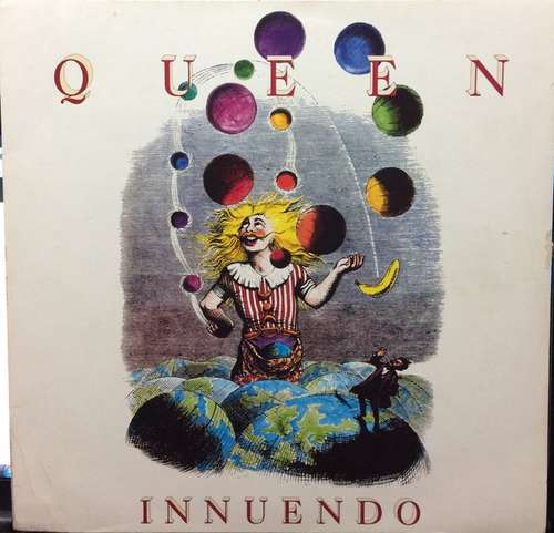 Cover Queen - Innuendo (LP, Album) Schallplatten Ankauf