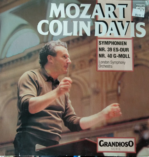Bild Wolfgang Amadeus Mozart, Sir Colin Davis, The London Symphony Orchestra - Symphonien Nr 39 ES-DUR, Nr 40 G-Moll (LP, Album, RE) Schallplatten Ankauf
