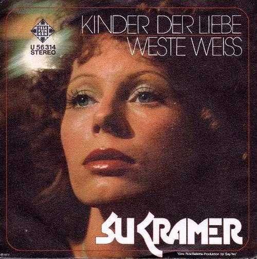 Cover zu Su Kramer - Kinder Der Liebe / Weste Weiss (7, Single) Schallplatten Ankauf