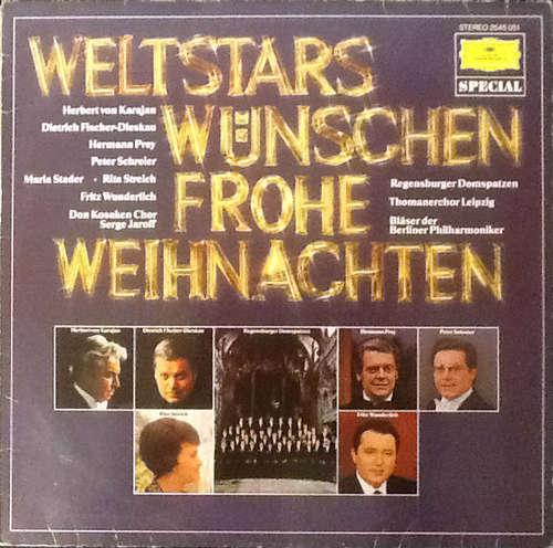 Cover zu Various - Weltstars Wünschen Frohe Weihnachten (LP, Comp) Schallplatten Ankauf