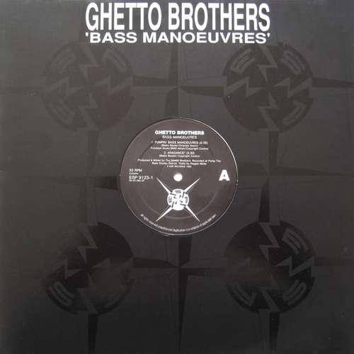Cover Ghetto Brothers - Bass Manoeuvres (12) Schallplatten Ankauf