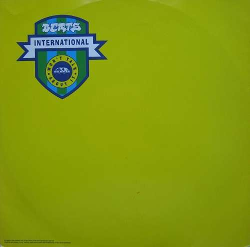Cover zu Beats International - Won't Talk About It (12) Schallplatten Ankauf