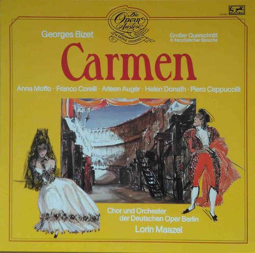 Bild Georges Bizet - Chor* Und Orchester Der Deutschen Oper Berlin, Lorin Maazel - Carmen - Großer Querschnitt in französischer Sprache (LP, Album) Schallplatten Ankauf