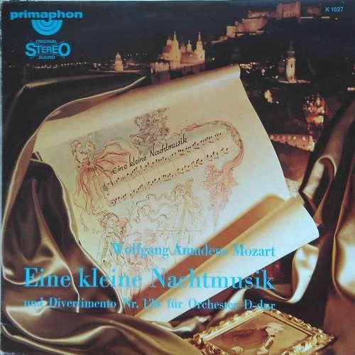 Cover Wolfgang Amadeus Mozart - Eine Kleine Nachtmusik /Divertimento Nr. 136 (LP) Schallplatten Ankauf