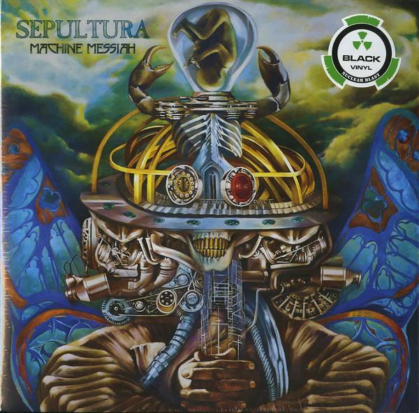Bild Sepultura - Machine Messiah (2xLP, Album) Schallplatten Ankauf