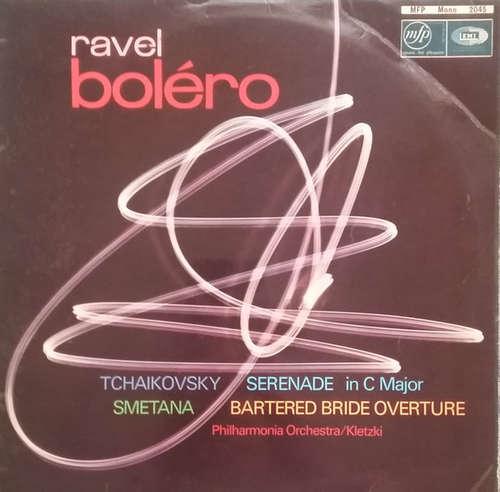 Bild Tchaikovsky*, Smetana*, Ravel* Played By Philharmonia Orchestra Conducted By Kletzki* - Serenade In C Major / Bartered Bride Overture / Boléro (LP, Mono) Schallplatten Ankauf