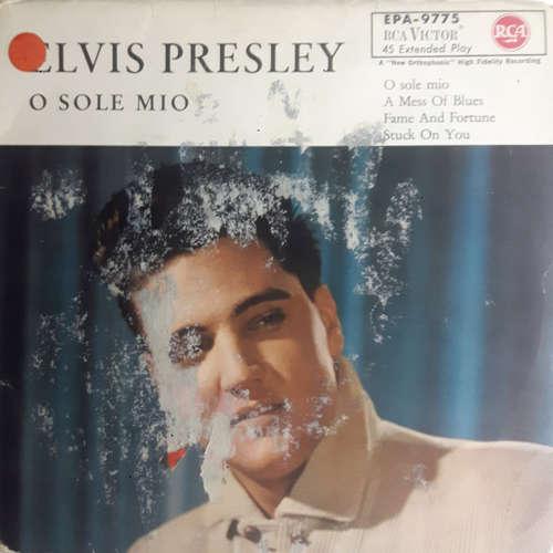 Cover Elvis Presley With The Jordanaires - O Sole Mio (7, EP) Schallplatten Ankauf