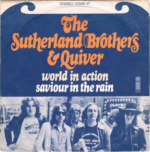 Bild Sutherland Brothers & Quiver - World In Action / Saviour In The Rain (7) Schallplatten Ankauf