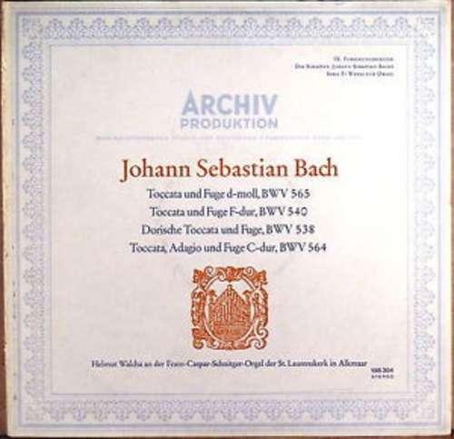 Bild Johann Sebastian Bach - Helmut Walcha - Toccata Und Fuge D-Moll, BWV 565; Toccata Und Fuge F-Dur, BWV 540; Dorische Toccata Und Fuge, BWV 538; Toccata, Adagio Und Fuge C-Dur, BWV 564 (LP) Schallplatten Ankauf