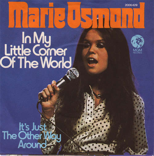 Cover zu Marie Osmond - In My Little Corner Of The World (7, Single) Schallplatten Ankauf