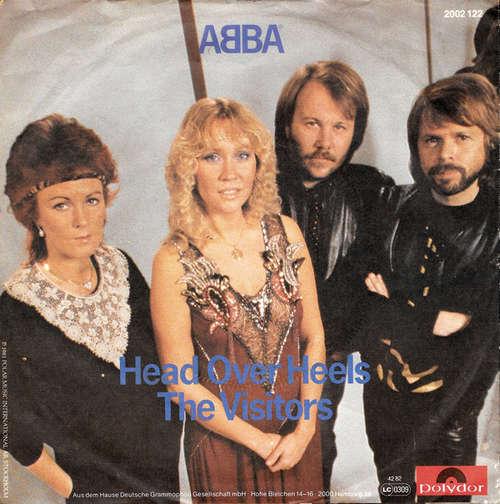 Bild ABBA - Head Over Heels / The Visitors (7, Single) Schallplatten Ankauf