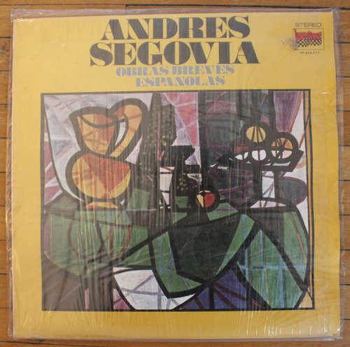 Cover Andrés Segovia - Obras Breves Espanolas (LP) Schallplatten Ankauf