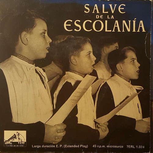 Bild Escolanía De Montserrat - Salve De La Escolania  (7, EP) Schallplatten Ankauf