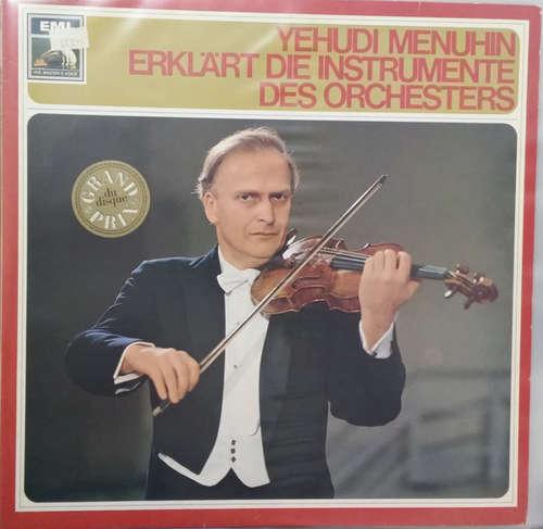 Cover Yehudi Menuhin - Erklärt Die Instrumente Des Orchesters (LP, Album) Schallplatten Ankauf