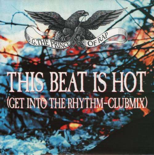 Cover B.G. The Prince Of Rap - This Beat Is Hot (7, Single) Schallplatten Ankauf