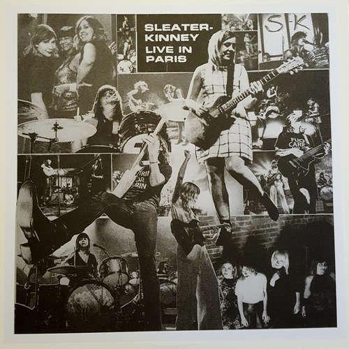 Cover zu Sleater-Kinney - Live In Paris (LP) Schallplatten Ankauf