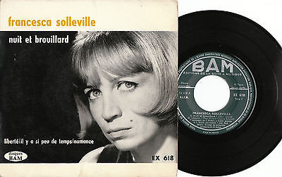 Bild Francesca Solleville - Nuit Et Brouillard (7, EP) Schallplatten Ankauf