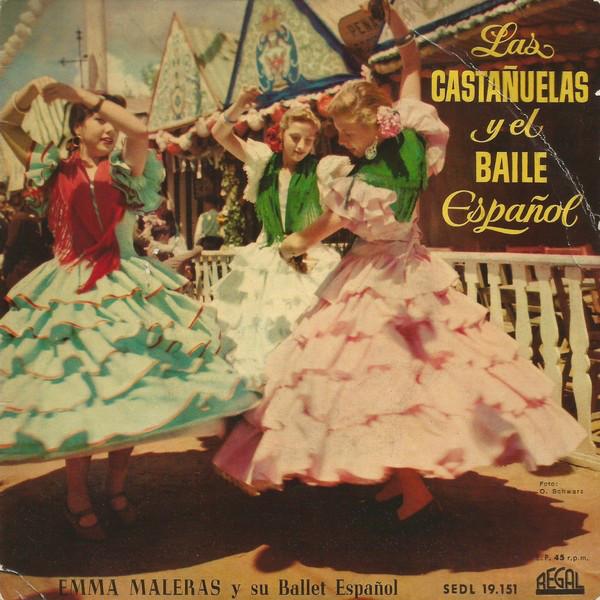 Bild Emma Maleras Y Su Ballet Español - Las Castañuelas Y El Baile Español (7, EP) Schallplatten Ankauf