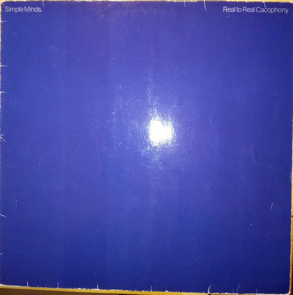 Cover Simple Minds - Real To Real Cacophony (LP, Album, RE) Schallplatten Ankauf