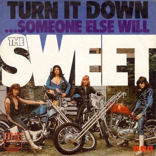 Bild The Sweet - Turn It Down (7, Single) Schallplatten Ankauf