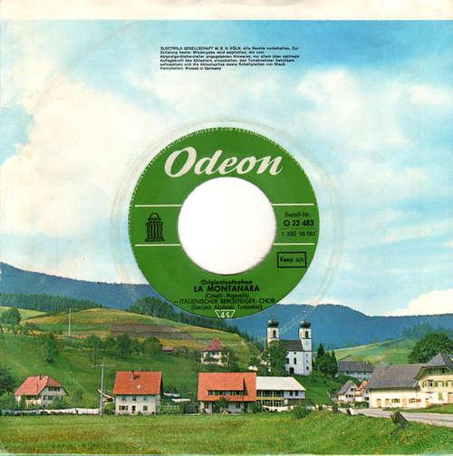 Cover Italienischer Bergsteiger Chor* - La Montanara / Monte Canino (7) Schallplatten Ankauf