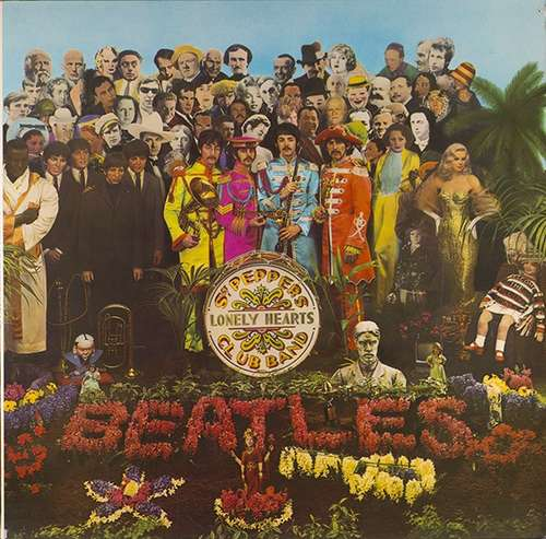 Cover The Beatles - Sgt. Pepper's Lonely Hearts Club Band (LP, Album, RE) Schallplatten Ankauf