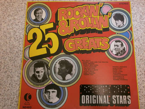 Bild Various - 25 Rockin' & Rollin' Greats (LP, Comp, Ltd, US ) Schallplatten Ankauf