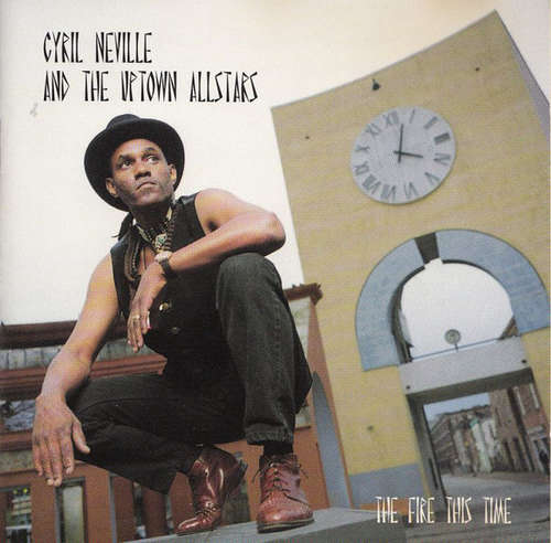 Cover Cyril Neville & The Uptown Allstars - The Fire This Time (CD, Album) Schallplatten Ankauf