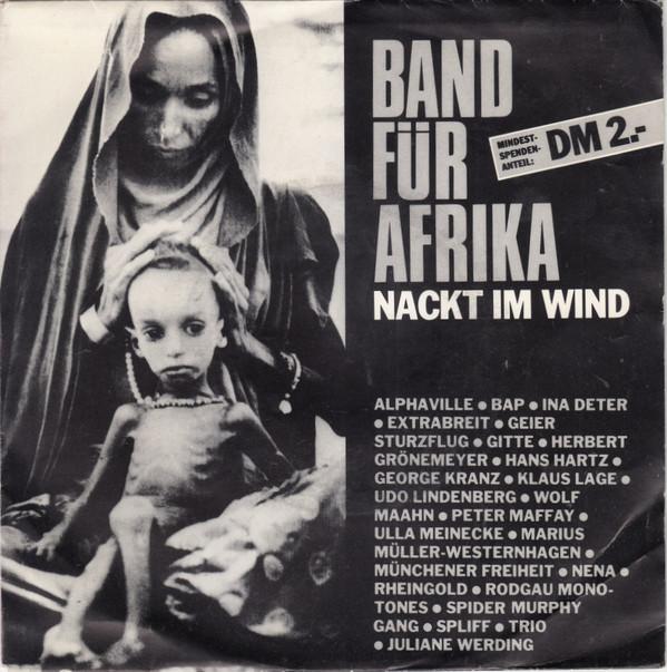Bild Band Für Afrika - Nackt Im Wind (7, Single) Schallplatten Ankauf