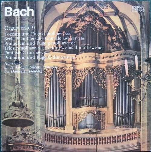 Cover zu Bach*, Hans Otto - Orgelwerke  9 (LP, Album, Lig) Schallplatten Ankauf
