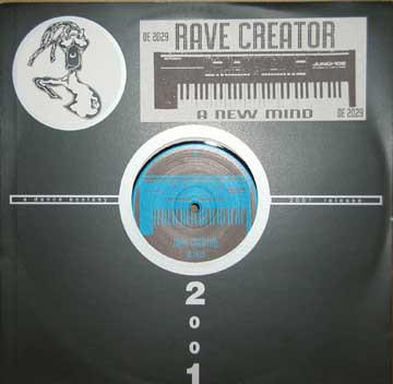 Cover Rave Creator - A New Mind (12, Com) Schallplatten Ankauf