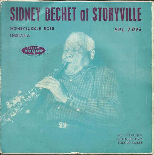 Cover zu Sidney Bechet - Sidney Bechet at Storyville (7) Schallplatten Ankauf