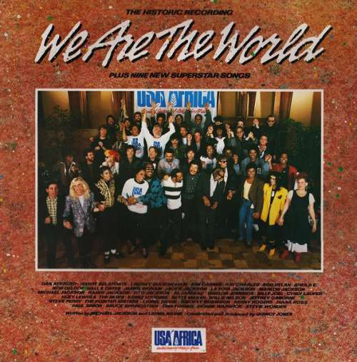 Cover USA For Africa - We Are The World (LP, Album, Gat) Schallplatten Ankauf