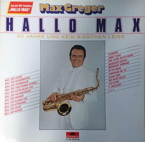 Cover Max Greger - Hallo Max (LP, Club) Schallplatten Ankauf