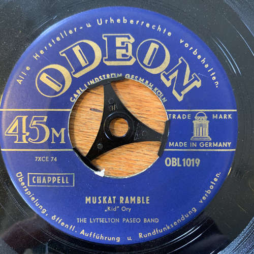 Bild The Lyttelton Paseo Band* - Muskat Ramble / Mamzelle Josephine (7, Single) Schallplatten Ankauf