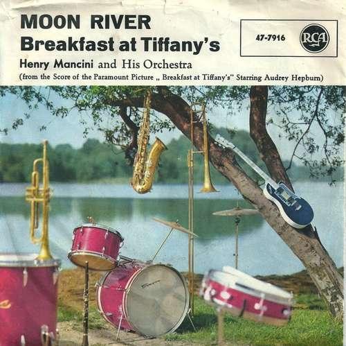Bild Henry Mancini And His Orchestra - Moon River / Breakfast At Tiffany's (7, Single) Schallplatten Ankauf