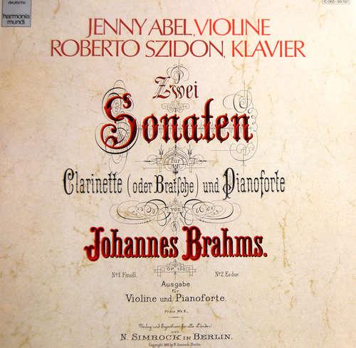 Bild Jenny Abel, Roberto Szidon, Johannes Brahms - Zwei Sonaten (LP, Album) Schallplatten Ankauf