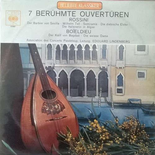 Bild Rossini* / Boieldieu* / Association Des Concerts Pasdeloup*, Edouard Lindenberg - 7 Berühmte Ouvertüren (LP) Schallplatten Ankauf