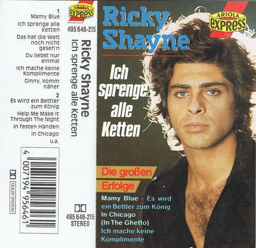 Cover zu Ricky Shayne - Ich Sprenge Alle Ketten  (Cass, Comp) Schallplatten Ankauf