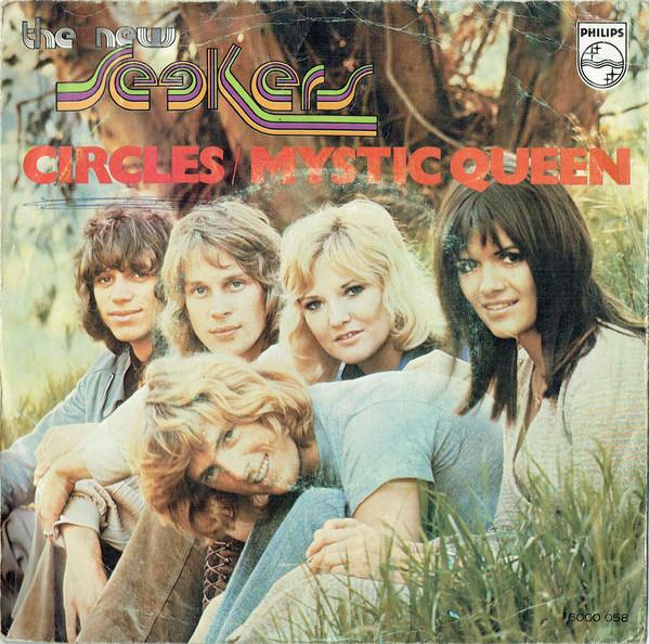 Cover The New Seekers - Circles / Mystic Queen (7, Lar) Schallplatten Ankauf