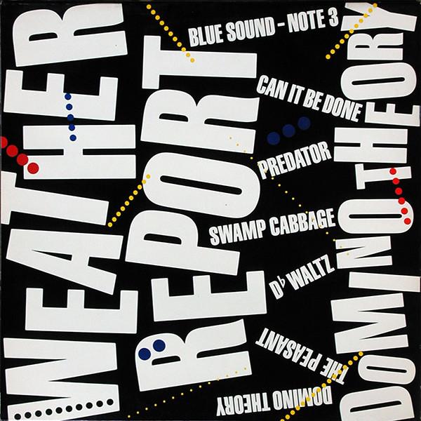 Cover Weather Report - Domino Theory (LP, Album) Schallplatten Ankauf