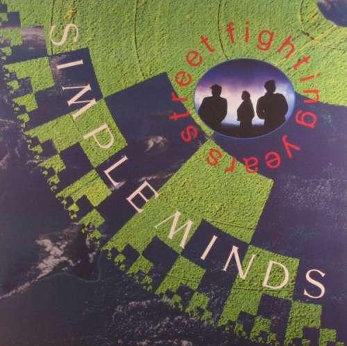 Cover Simple Minds - Street Fighting Years (LP, Album, Gat) Schallplatten Ankauf