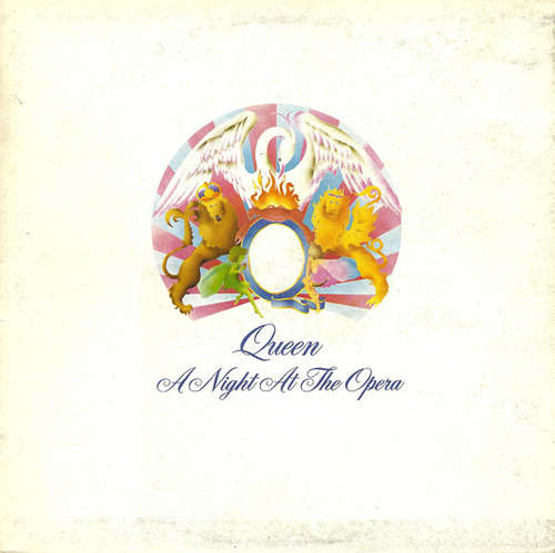 Cover Queen - A Night At The Opera (LP, Album, Gat) Schallplatten Ankauf