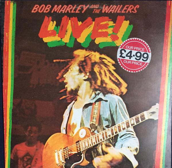 Cover Bob Marley And The Wailers* - Live! (LP, Album) Schallplatten Ankauf
