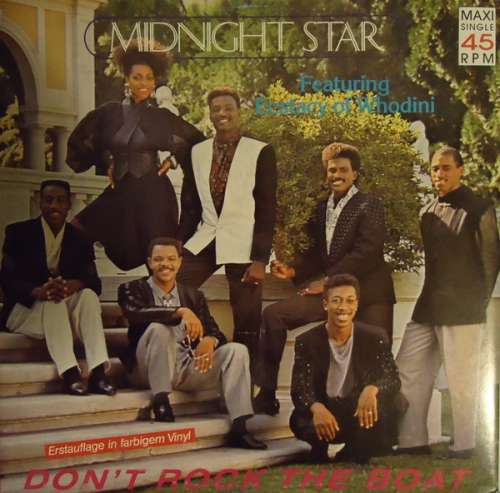 Cover Midnight Star Featuring Ecstacy Of Whodini* - Don't Rock The Boat (12, Maxi, Blu) Schallplatten Ankauf