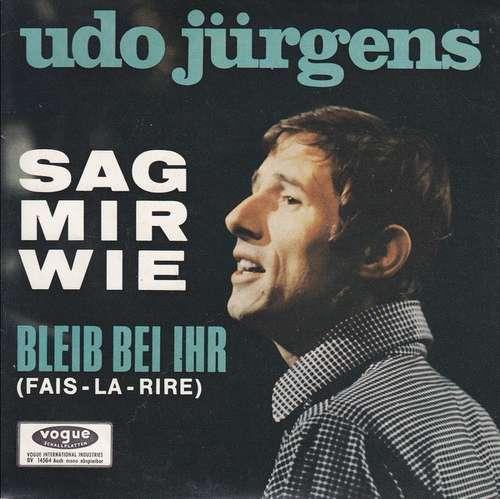 Cover zu Udo Jürgens - Sag Mir Wie (7, Single) Schallplatten Ankauf