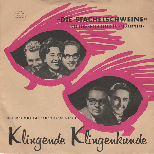 Bild Die Stachelschweine - Klingende Klingenkunde (7) Schallplatten Ankauf