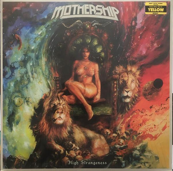 Bild Mothership (8) - High Strangeness (LP, Album, Ltd, Yel) Schallplatten Ankauf