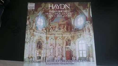 """Bild Haydn*, Collegium Aureum - Pariser Sinfonien (Nr.83 G-Moll """"La Poule"""" / Nr.82 C-Dur """"L'Ours"""") (LP, Club, RE) Schallplatten Ankauf"""